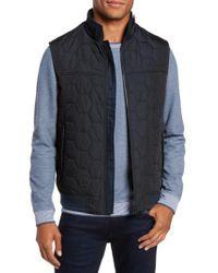 Ted Baker - Blue Ferny Quilted Vest for Men - Lyst