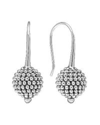 Lagos | Metallic Columbus Circle Drop Earrings | Lyst