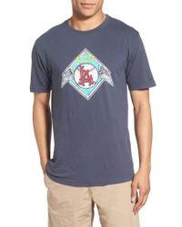 Red Jacket - Blue 'los Angeles Angels - Brass Tacks' Trim Fit T-shirt for Men - Lyst