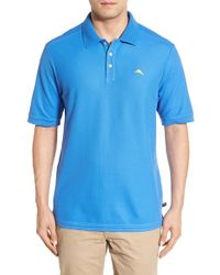 Tommy Bahama | Blue 'the Emfielder' Pique Polo for Men | Lyst