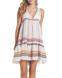 Muche Et Muchette - White Mira Cover-up Dress - Lyst