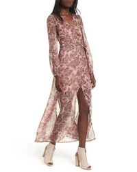 The Fifth Label | Pink Siren Calls Wrap Dress | Lyst