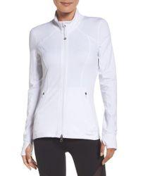 Zella | White Presence Training Jacket | Lyst