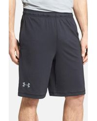 Under Armour - Black 'raid' Heatgear Loose-fit Athletic Shorts for Men - Lyst