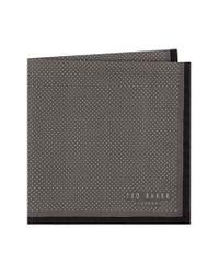 Ted Baker - Black Triangle Pocket Square for Men - Lyst