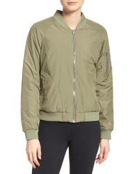 The North Face - Gray 'rydell' Water Resistant Heatseeker(tm) Insulated Bomber Jacket - Lyst