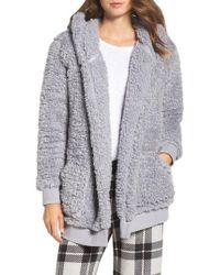 Make + Model | Gray Oh So Cozy Open Hoodie | Lyst