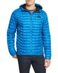 The North Face | Blue 'thermoball(tm)' Primaloft Hoodie Jacket for Men | Lyst