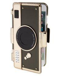Kate Spade   Multicolor Camera Folio Iphone 7 Case - Metallic   Lyst
