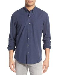 W.r.k. | Blue 'reworked' Trim Fit Sport Shirt for Men | Lyst