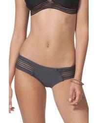 Rip Curl - Gray Illusion Hipster Bikini Bottoms - Lyst