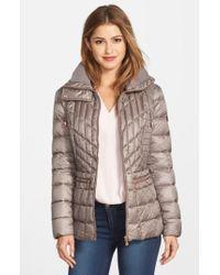 Bernardo | Gray Packable Jacket With Down & Primaloft Fill, Grey | Lyst