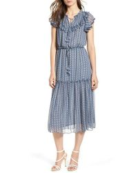 MISA - Blue Meliss Dress - Lyst