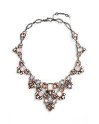 Jenny Packham - Metallic Crystal Drama Collar Necklace - Lyst