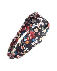Cara - Multicolor Floral Print Head Wrap - Lyst