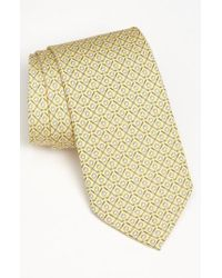 Vineyard Vines - Yellow 'golf Clubs' Silk Tie for Men - Lyst