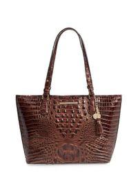 Brahmin   Brown 'medium Asher' Leather Tote   Lyst