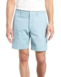 Bonobos - Blue Stretch Chino 7-inch Shorts for Men - Lyst