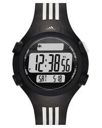 Adidas Originals | Black Adidas Originals 'questra' Rubber Strap Watch | Lyst