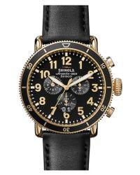 Shinola - Multicolor The Runwell Sport Chronograph Watch for Men - Lyst