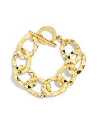 BaubleBar - Metallic Jameya Linked Bracelet - Lyst