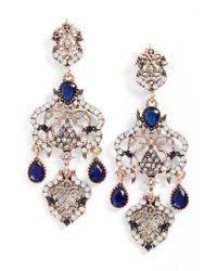 SAREH NOURI | Blue Statement Earrings | Lyst