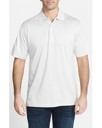 Peter Millar | Blue Egyptian Cotton Lisle Polo for Men | Lyst