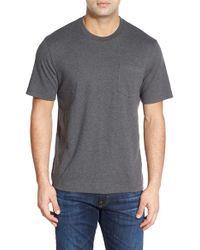 Nordstrom - Gray Pima Cotton T-shirt for Men - Lyst