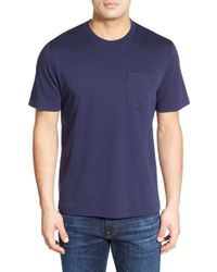 Nordstrom - Blue Pima Cotton T-shirt for Men - Lyst