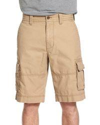 Nordstrom - Brown Herringbone Cargo Shorts for Men - Lyst