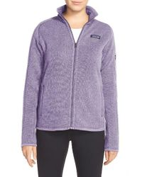 Patagonia   Purple 'better Sweater' Jacket   Lyst