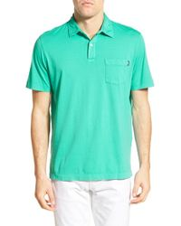 Vineyard Vines - Green Cotton Jersey Polo for Men - Lyst