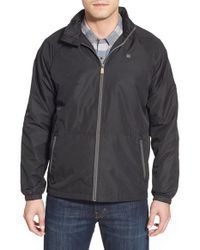 Quiksilver | Black Waterman Collection 'shell Shock' Lightweight Zip Jacket for Men | Lyst
