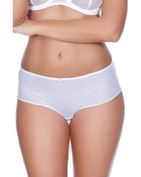Freya - White 'hero' Boyshorts - Lyst