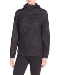 Zella | Black 'euphoria' Windbreaker Jacket | Lyst