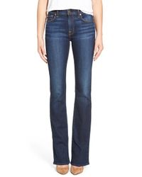 7 For All Mankind   Blue 7 For All Mankind New Iconic Bootcut Jeans   Lyst