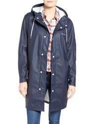 Tretorn | Blue 'wings' Rain Jacket | Lyst