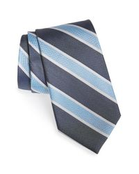 Nordstrom - Blue Nordstrom 'charming Stripe' Silk Tie for Men - Lyst