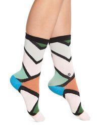 Stance | Orange 'steezy' Crew Socks | Lyst