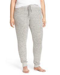 Make + Model | Gray Brushed Hacci Lounge Pants | Lyst