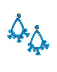 BaubleBar   Blue Sardinia Drop Earrings   Lyst