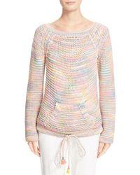 Chloé | Green Space Dye Knit Sweater | Lyst