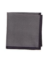 Eton of Sweden | Black Dot Silk Pocket Square for Men | Lyst