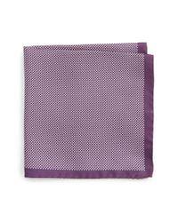 Eton of Sweden | Purple Dot Silk Pocket Square for Men | Lyst