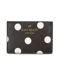 Kate Spade | Black 'cedar Street' Card Holder | Lyst