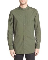Zanerobe - Green 'tuck Seven Ft' Woven Shirt for Men - Lyst