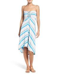 Patagonia | Blue Kamala Convertible Jersey Skirt | Lyst