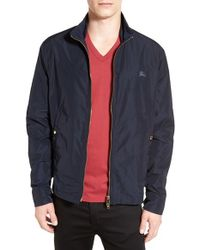 Burberry Brit | Blue 'brighton' Blouson Jacket for Men | Lyst