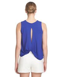 1.STATE - Multicolor Twist Back Tank - Lyst