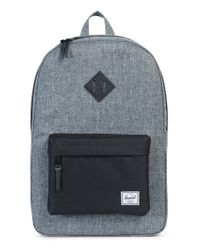 Herschel Supply Co. | Black Heritage Backpack | Lyst